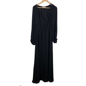 Mango Black Full Length Suit Collection Dress - 6